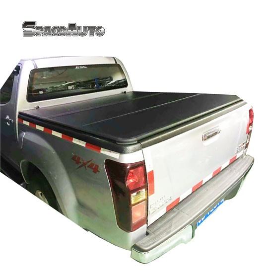 Aluminum Isuzu Dmax Hard Tri Fold Tonneau Cover